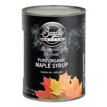 Bradley 100% Organic Maple Syrup 540ml