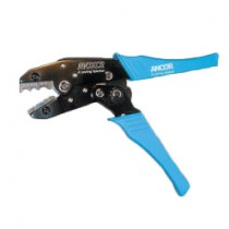 Ancor Double Crimp Tool Ratchet Action 10-22G