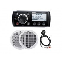 Fusion RA205 with 6in Speakers and Bluetooth Receiver