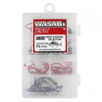 Wasabi Tackle Hook and Swivel Selection Box