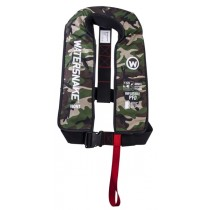 Watersnake Camouflage Inflatable Life Jacket 150N