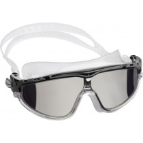 Cressi Skylight Grey Mirrored Lens Swimming Goggles Clear/Black