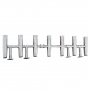 AISI 304 Stainless Steel Rod Rack - Holds 7 Rods
