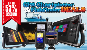 GPS Chartplotter and Fishfinder Deals