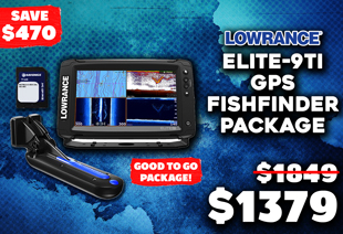Lowrance Elite-9 Ti GPS/Fishfinder Navionics NZ/AU TotalScan Package