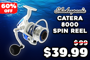 Shakespeare Catera 8000 Spinning Reel