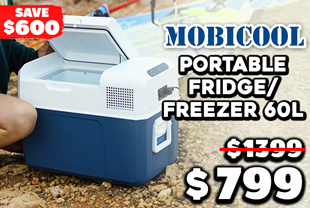 Mobicool CoolFreeze MCF60 Portable Fridge/Freezer 60L