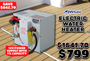 Whale S360EW Electric Water Heater 11L 12V